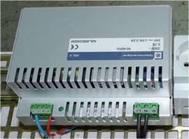 Fuente de alimentación circuito de mando.