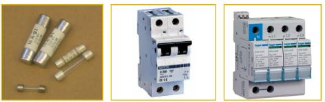 Elementos de protección eléctrica.