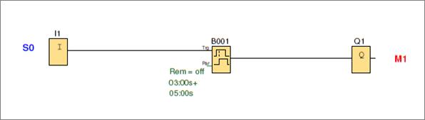 Logosof, temporizador a la conexión-desconexión