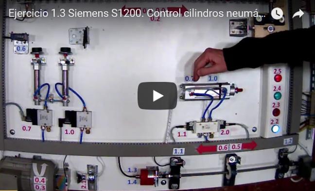 Curso TIA PORTAL. Siemens S1200. Video 11