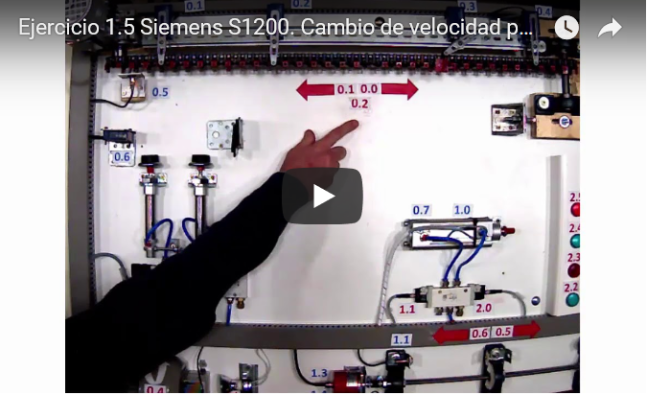 Curso TIA PORTAL. Siemens S1200. Video 13