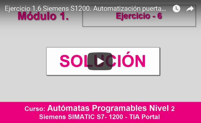 Curso TIA PORTAL. Siemens S1200. Video 14