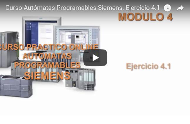 Curso TIA PORTAL. Siemens S1200. Video 26