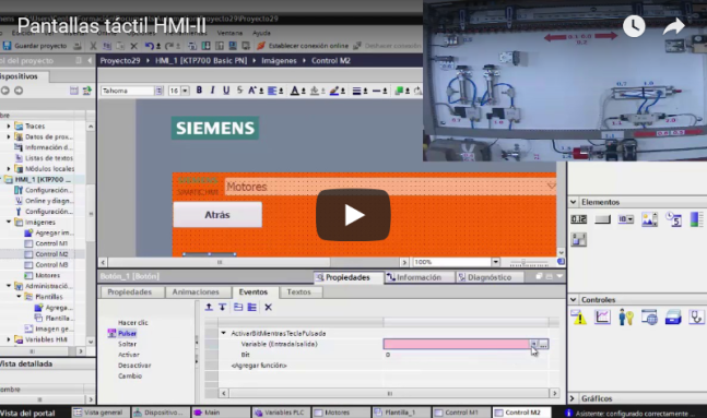 Curso TIA PORTAL. Siemens S1200. Video 34