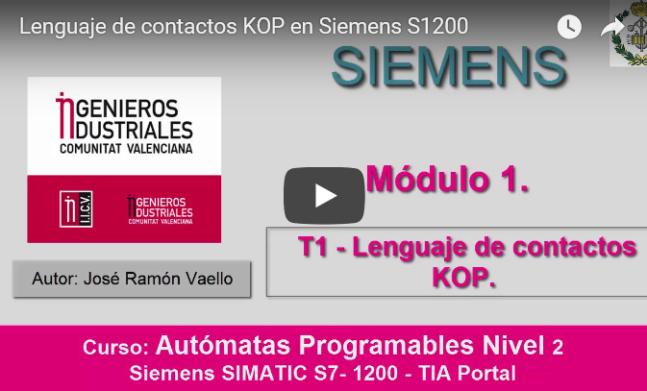 Curso TIA Portal. Siemens S-1200. Video 5
