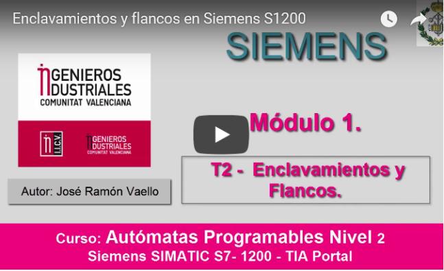 Curso TIA PORTAL. Siemens S1200. Video 6